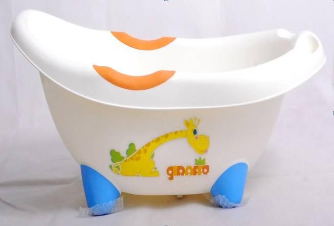 2012 Newest modern plastic baby bathtub