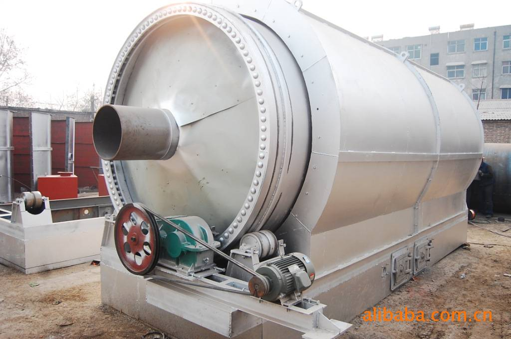 Waste tire/rubber/plastic recycling machine