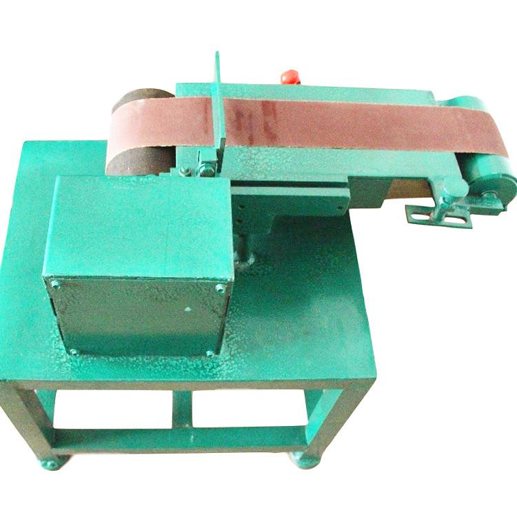 6 inch flat grinding belt machine table polishing machine can customize corner deburring machine