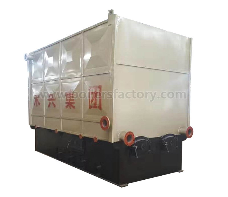 YLW Horizontal Automatically Solid Fuel Boiler