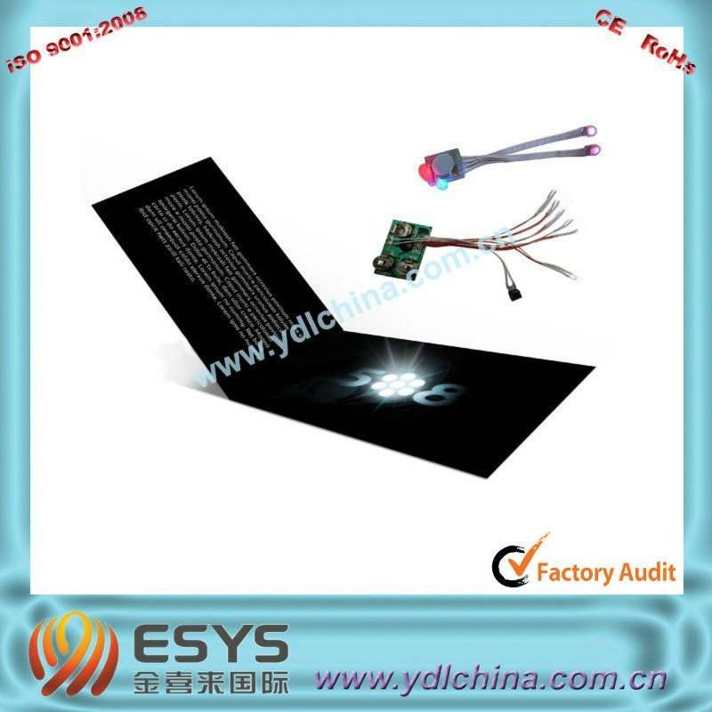 flash greeting card with music