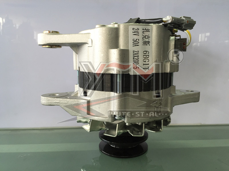 YTM 6BG1T 24V 50A 1 year guarantee new alternator wholesale prices