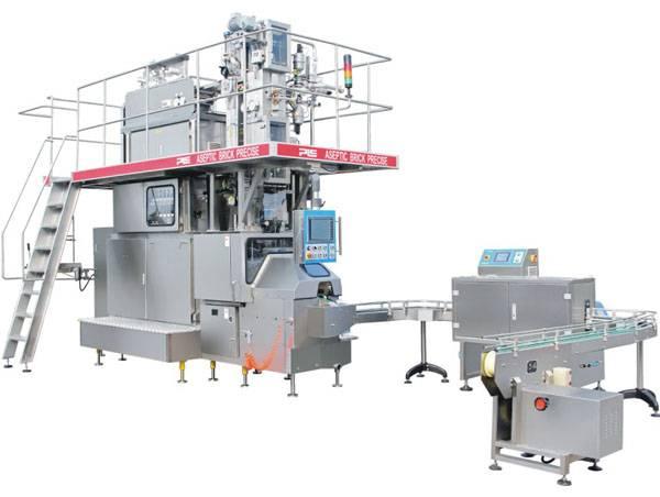 Aseptic carton filling machine JQ7000