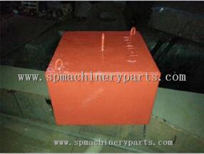 China Factory Custom Concrete Mooring Sinker for Royal Navy ship moorings.
