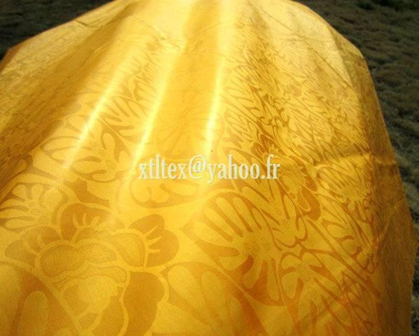 100%combed cotton Bazin Riche Damask Shadda Guinea Brocade Jacquard fabric