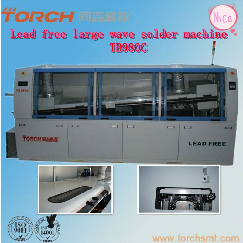 Automatic Lead-free Soldering machine / Double Wave Soldering Machine  TB880C (TORCH)