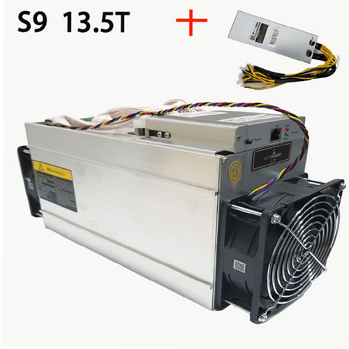Antminer S9 13.5TH/S 14TH/S Efficient Bitmain Miner Bitcoin In Stock Ready to Ship