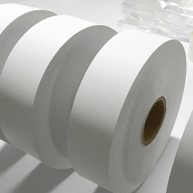 Minrui High quality white destructible material paper roll for tamper evident