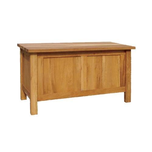Solid Oak Bedding Box Storage Case