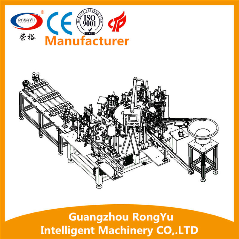 RONGYU Including LED chip-welding Assembly Machine And LED lamp base-pc cover Assembly Machine