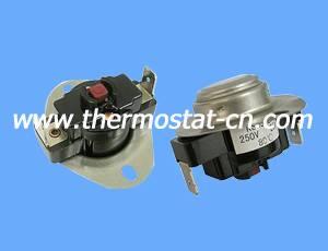 KSD302R manual reset thermostat, temperature controller