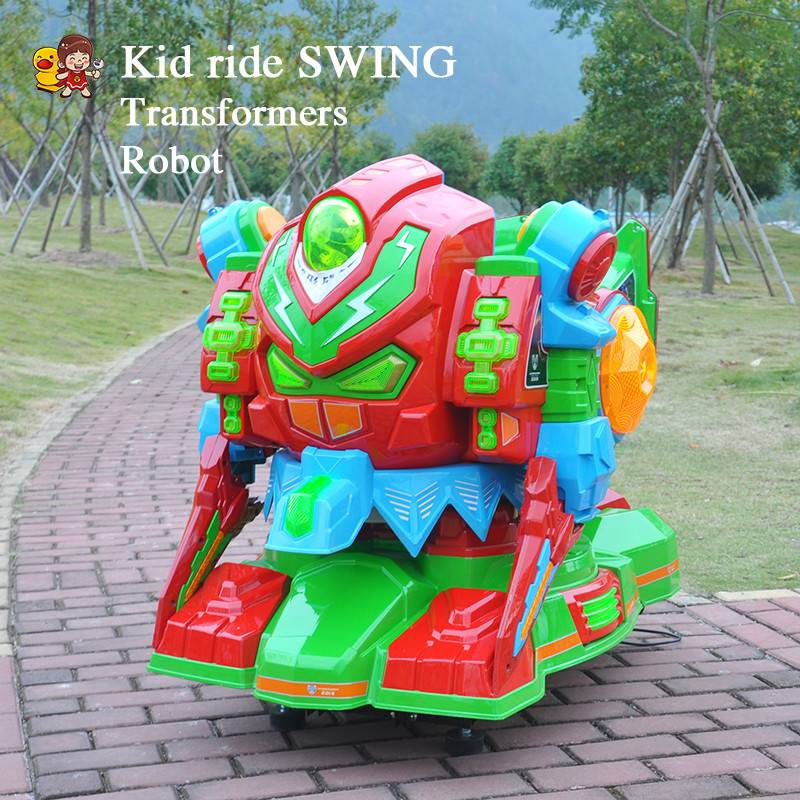 2015 Hot sell newest coin operated kidde ride swing machine park amusement for kid