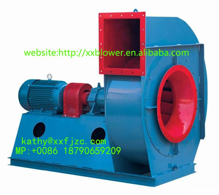 Big Power Large Capacity Hot Air Exhaust Fan for Steel Plant
