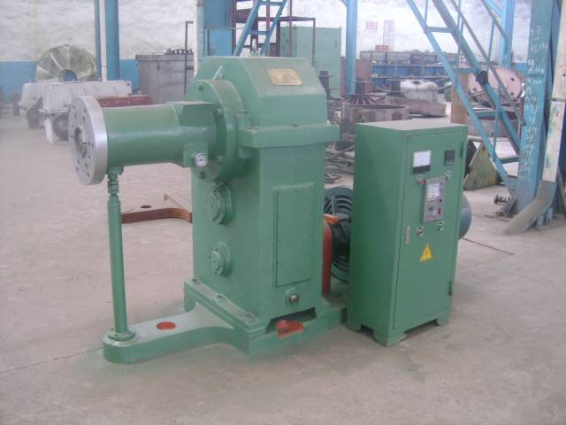Rubber extruding machinery