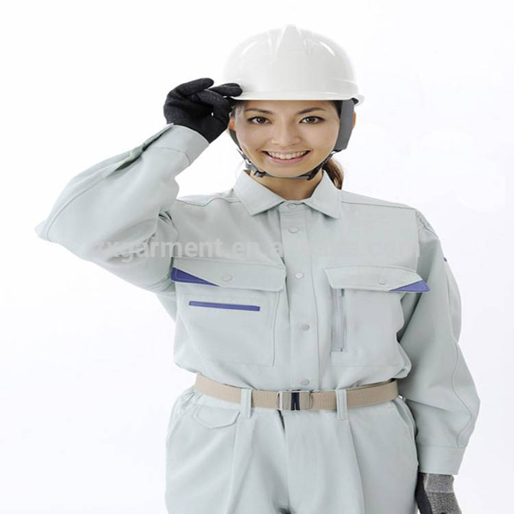 100%P CONSTRUCTION WORKING OVERALL UNIFORM COVERALL