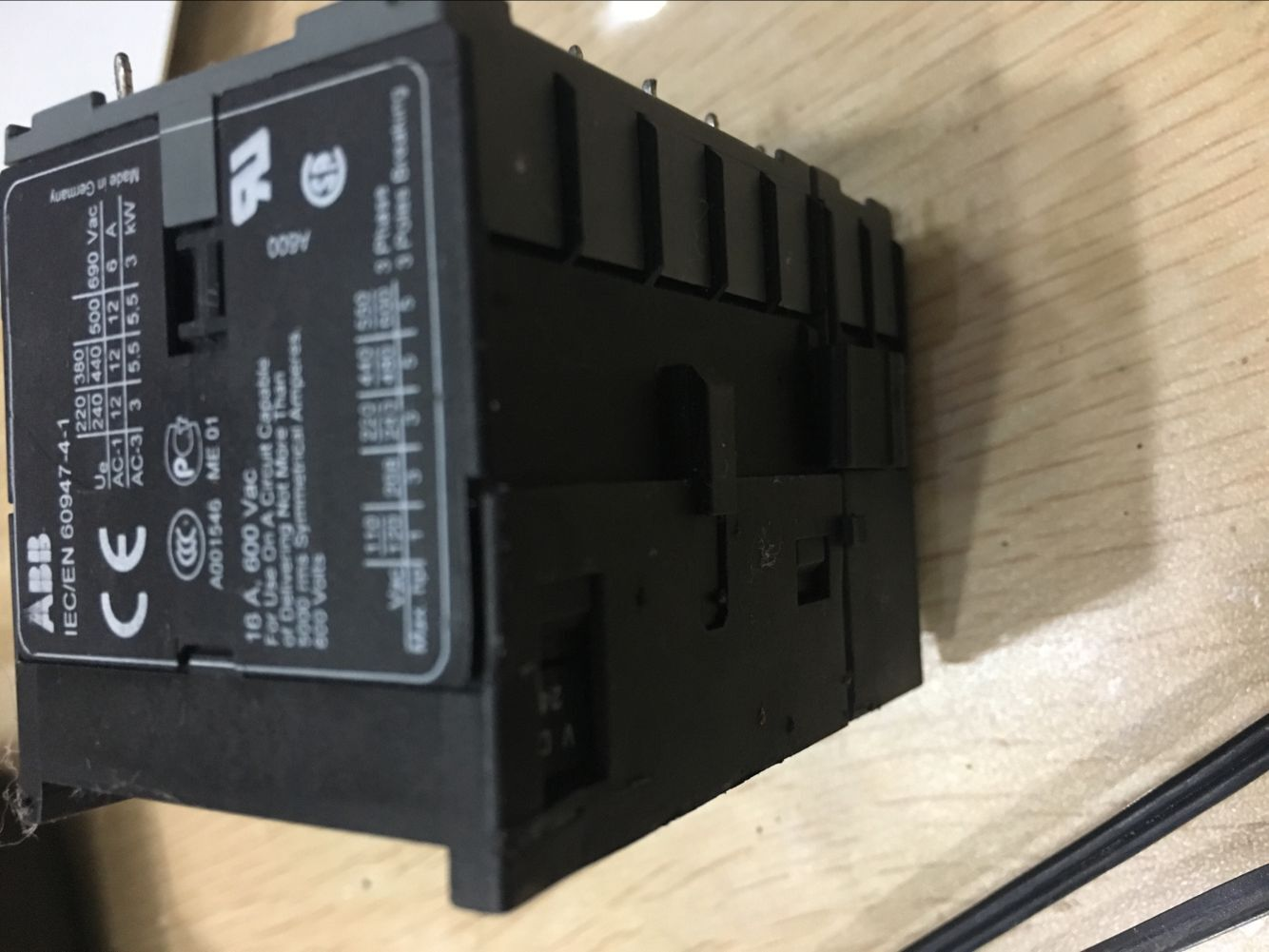 ABB contact type relay BC7-30-01-P-2.4