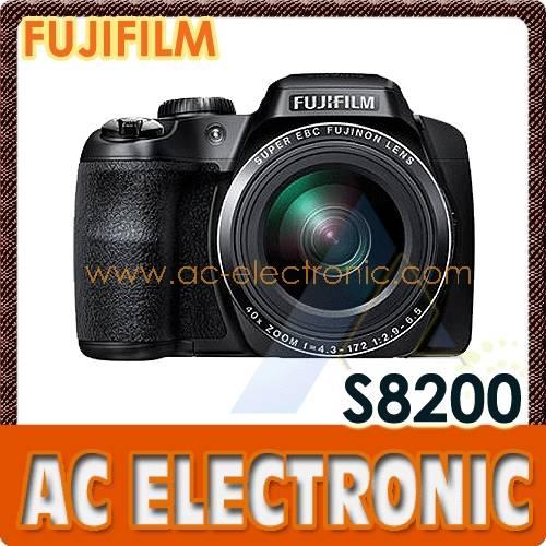 FUJI-S8200-Black