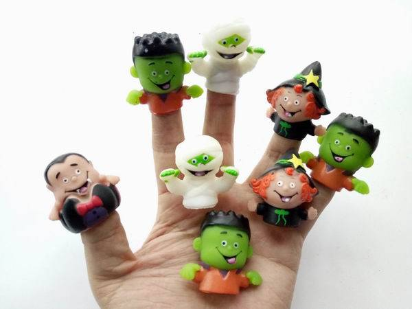 Halloween Character Finger Puppets