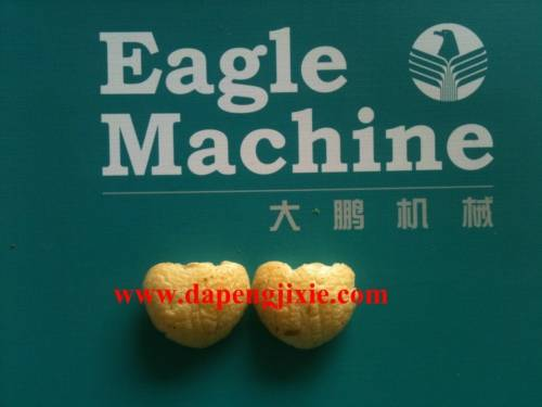 big extruder corn puff snack food making machine extruder processing line plant