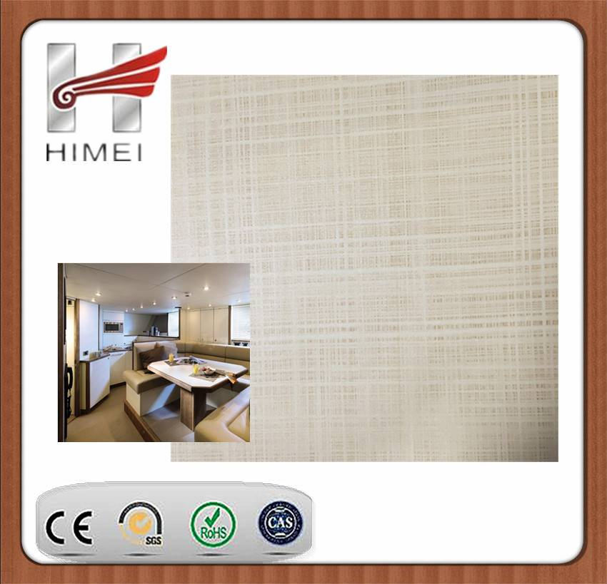 PVC film laminated sheet for Ship