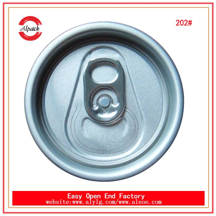 Top sale 202# RPT beverage easy open lid direct from China factory