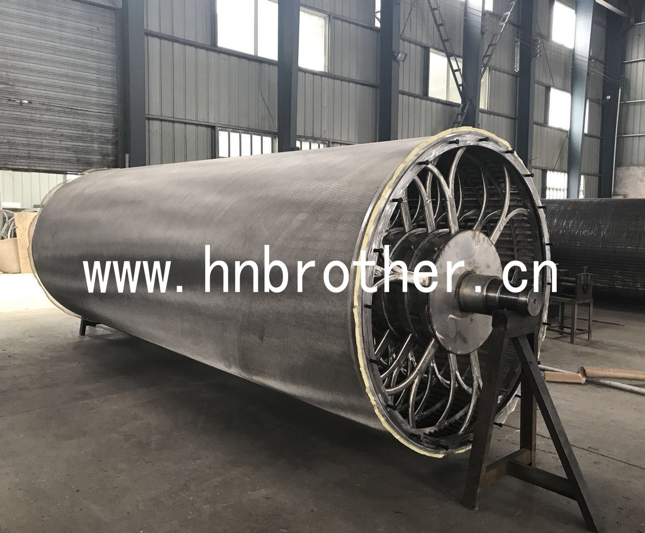 Stainless Steel Through Type Cylinder Mould For Paper-making Machine