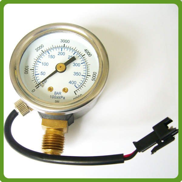 cng natural gas car pressure gauge