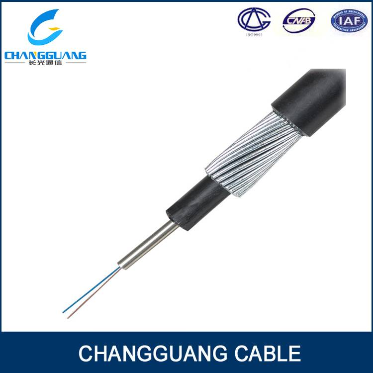 GYTA33 Multicore Optical Fiber Cable Stranded Loose Tube Steel Wire Armoured Cable Outdoor Fiber Opt