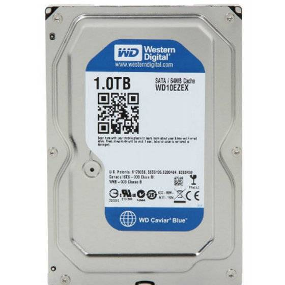 "Western Digital WD10EZEX WD Blue 1TB Internal HDD 3.5"" Desktop Hard Drive Disk"