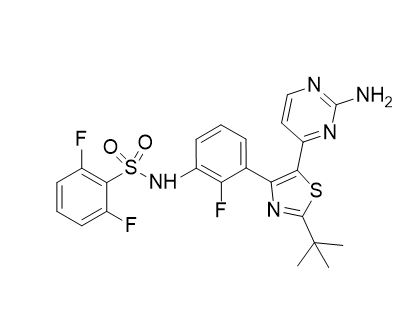 Debrafenib free base (CAS NO.:1195765-45-7)