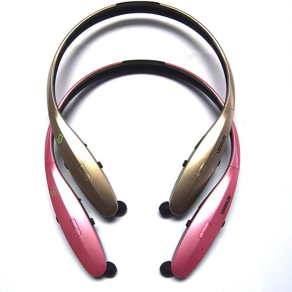 New Bluetooth headphone Flexible Earphone Stereo Headset for Samsung for iPhone HTC phone
