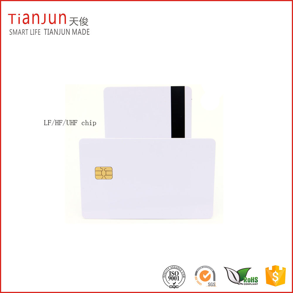 Blank PVC Nfc Smart Card with F08 Chip