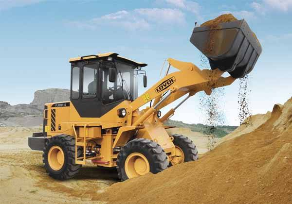 Construction machinery FL920F 1.8 ton Loader with 1.0cbm bucket