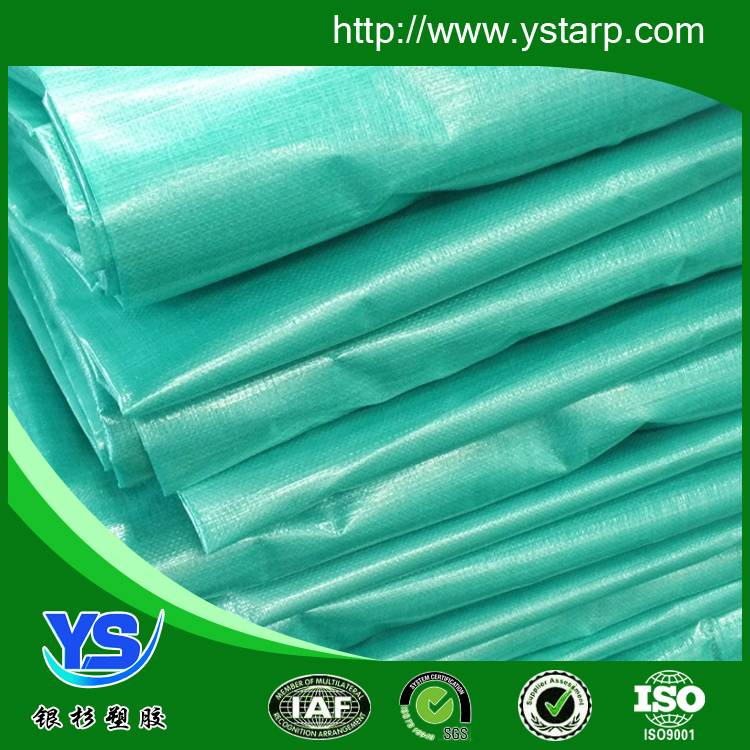 green color raw material tarpaulin