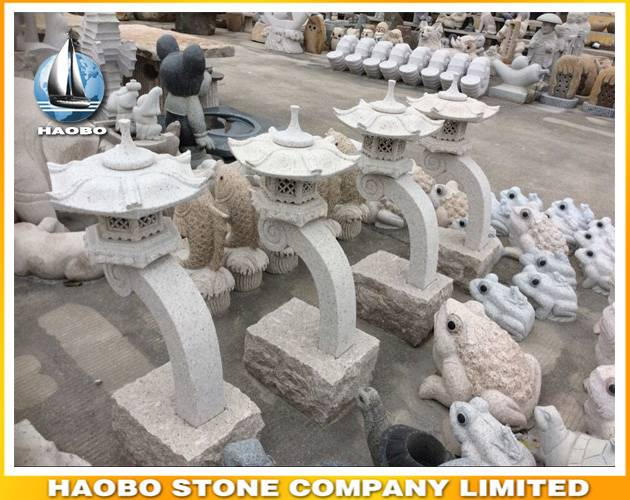 Asian Garden Lanterns Wholesale Natural Stone