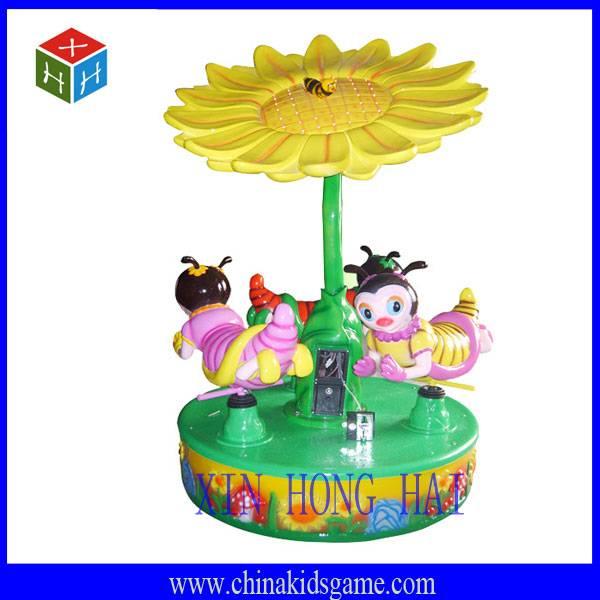 Amusement park swing machine, Honey bee kids carousel