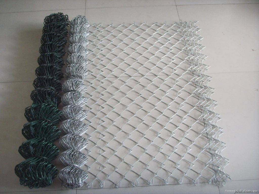 Contact Supplier  Leave Messages good rigidity galvanized plastic chain link fence