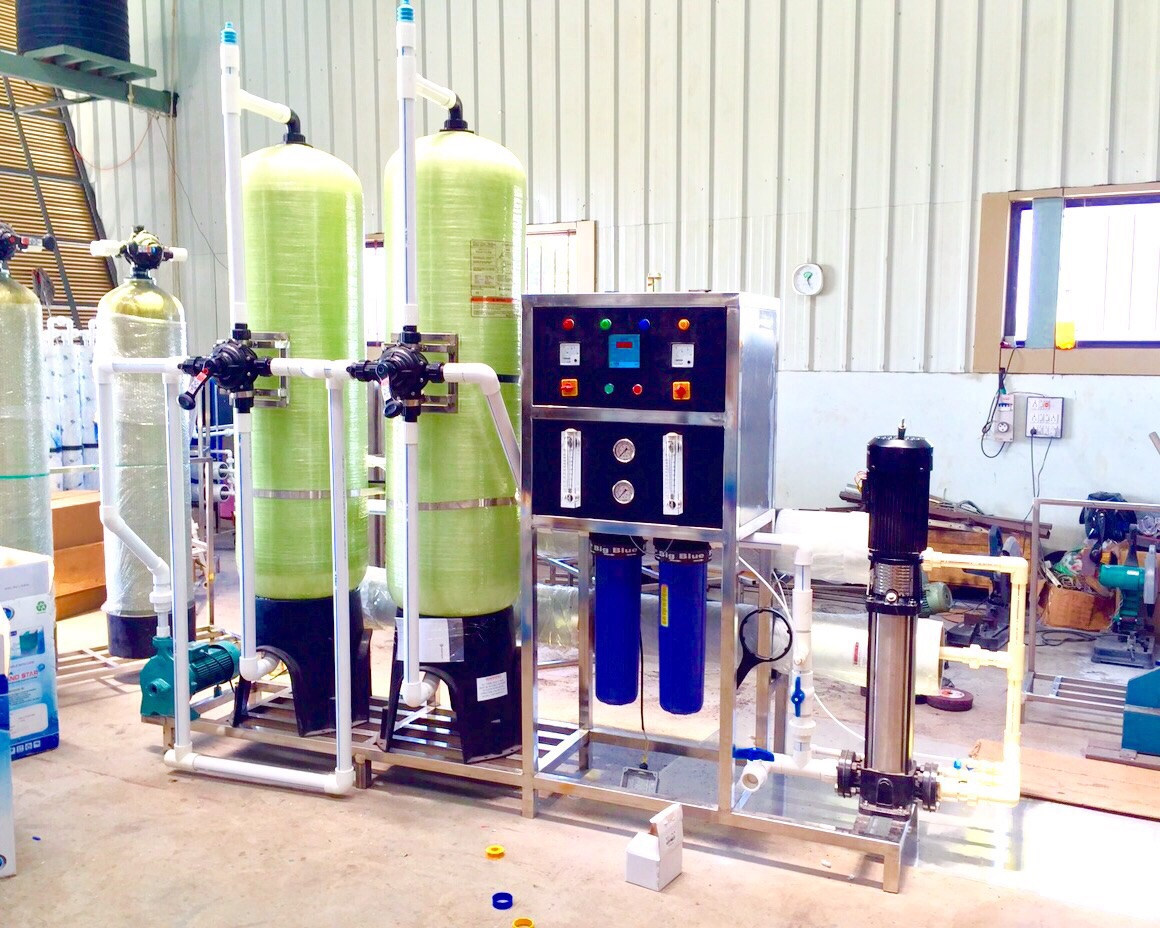 1000LPH RO Water Treatment Plant/System