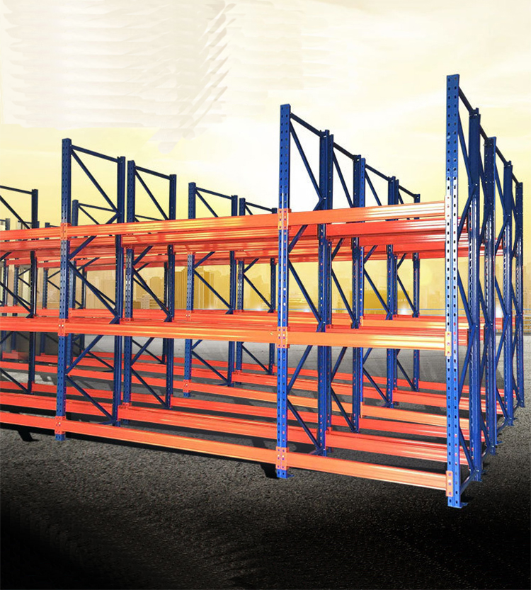 Heavy duty hose storage pallet rack with industry warehouse