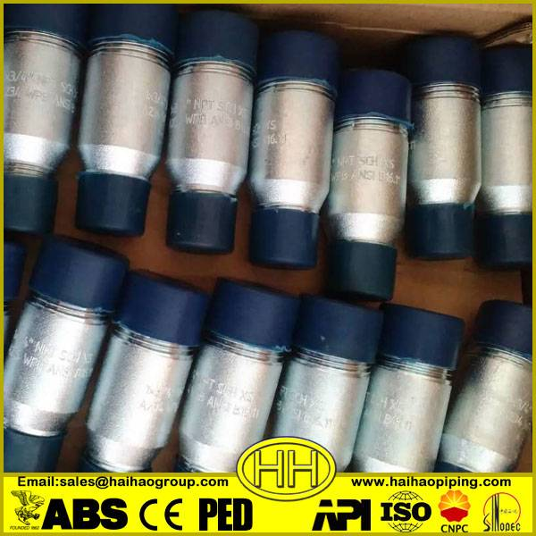 a234 wpb ansi standard pipe swage nipples
