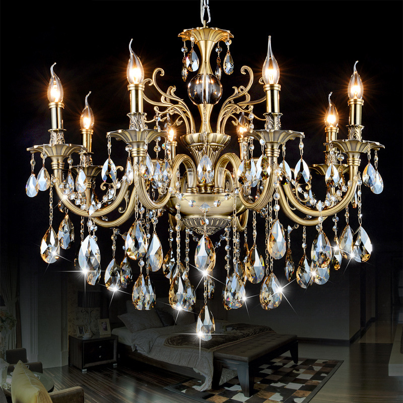 Modern Chandeliers Light Luxury Lustre Crystal Chandeliers Lighting Fixtures Lamp for Living Room Be