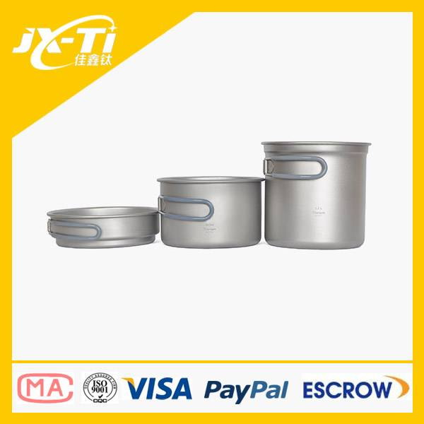 Titanium pot set