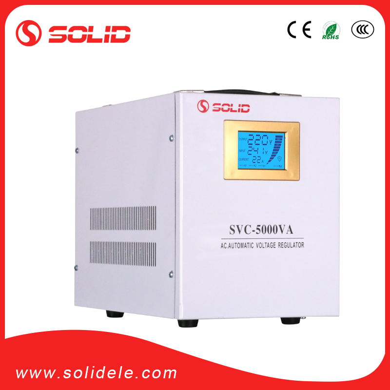 SOLID ELECTRIC svc 5000 watt ac automatic voltage regulator