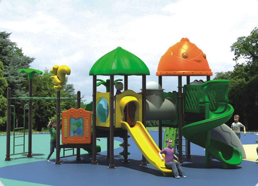 Funny outdoor playground equipment