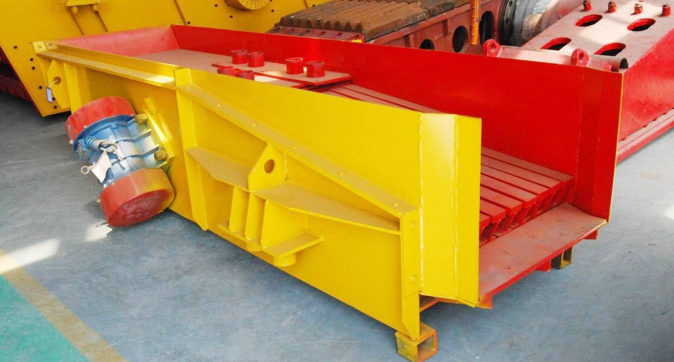vibrating feeder for sand making process
