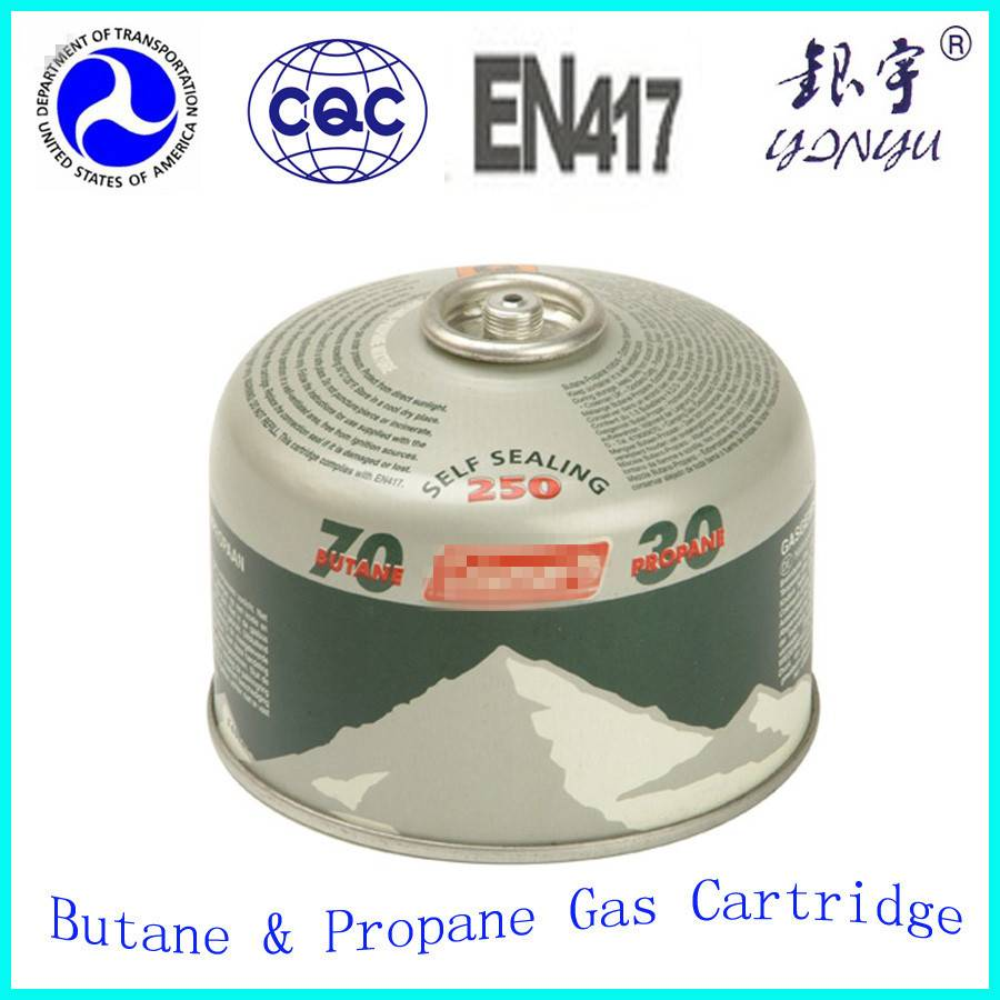 230G 450G Propane gas cartridge of LPG gas