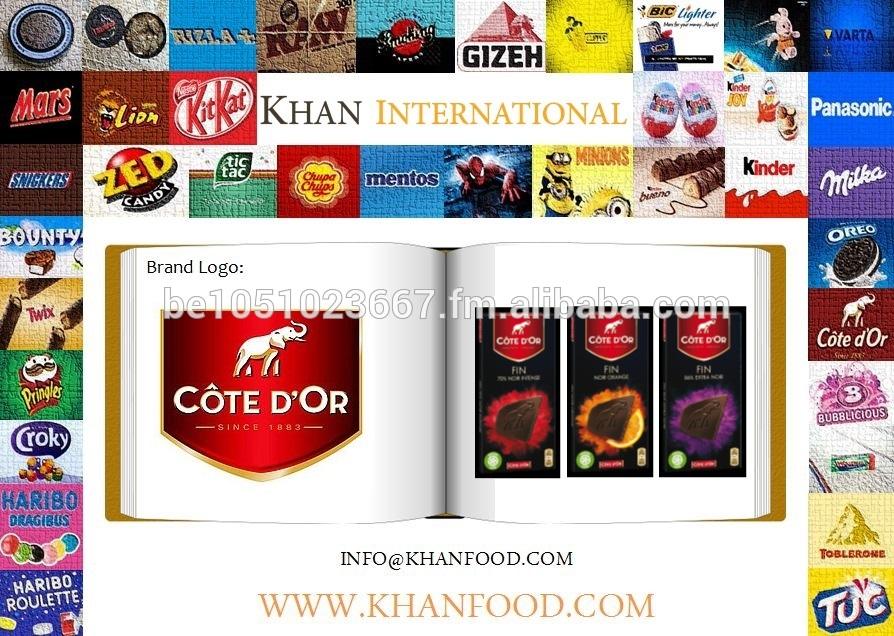 Côte D'or Chocolate Fin 100g - Black Intense, Black Orange, Black Brut 86%
