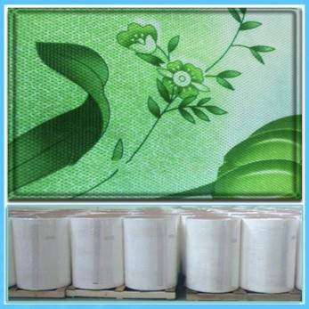 PET Low shrinking polyester nonwoven fabric for printed,ecofriendly,strong strength