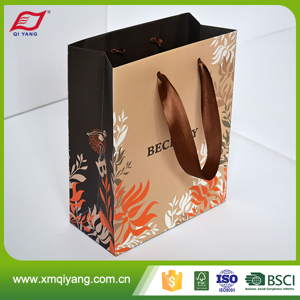 Alibaba china high quality fancy cheap stand up paper hand bag