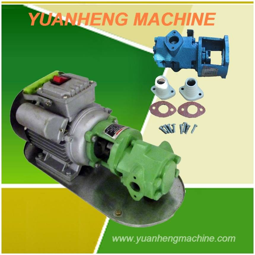 electric gear oil pump with self priming